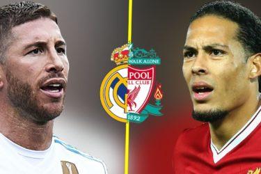 Eks The Reds mengatakan Virgil Van Dijk Berada di Atas Sergio Ramos