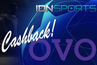 Judi Bola Online IDNSports Pakai OVO Bonus Cashback