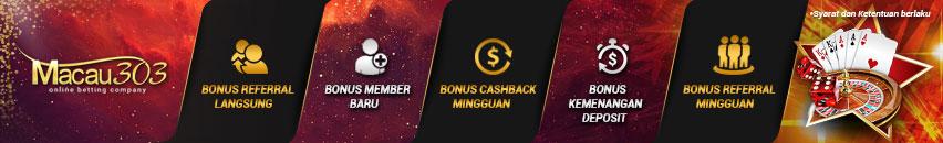 promo bonus freebet 100% gratis tanpa deposit - macau303.id